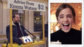 Video Emma Watson Gives Strangers Advice for $2 at Grand Central | Vanity Fair MP3, 3GP, MP4, WEBM, AVI, FLV Desember 2018