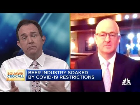 Molson Coors CEO on how the pandemic is causing beer sales to rise