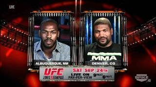 Jon Jones vs Rampage Jackson Interview