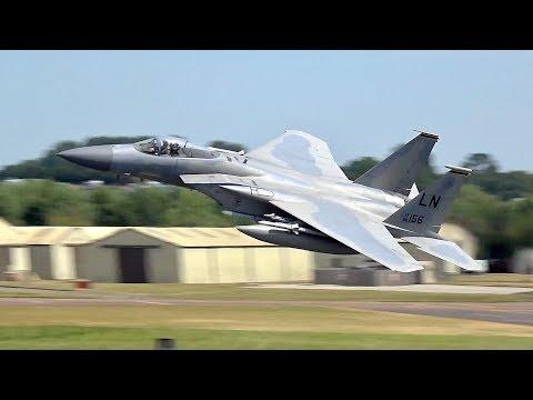 3 McDonnell Douglas F-15C Eagle...