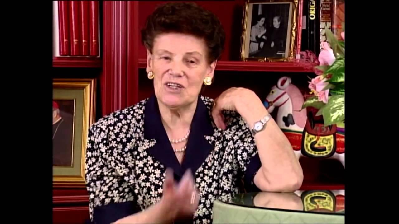 Dora del Hoyo v spomienkach na svätého Josemaríu