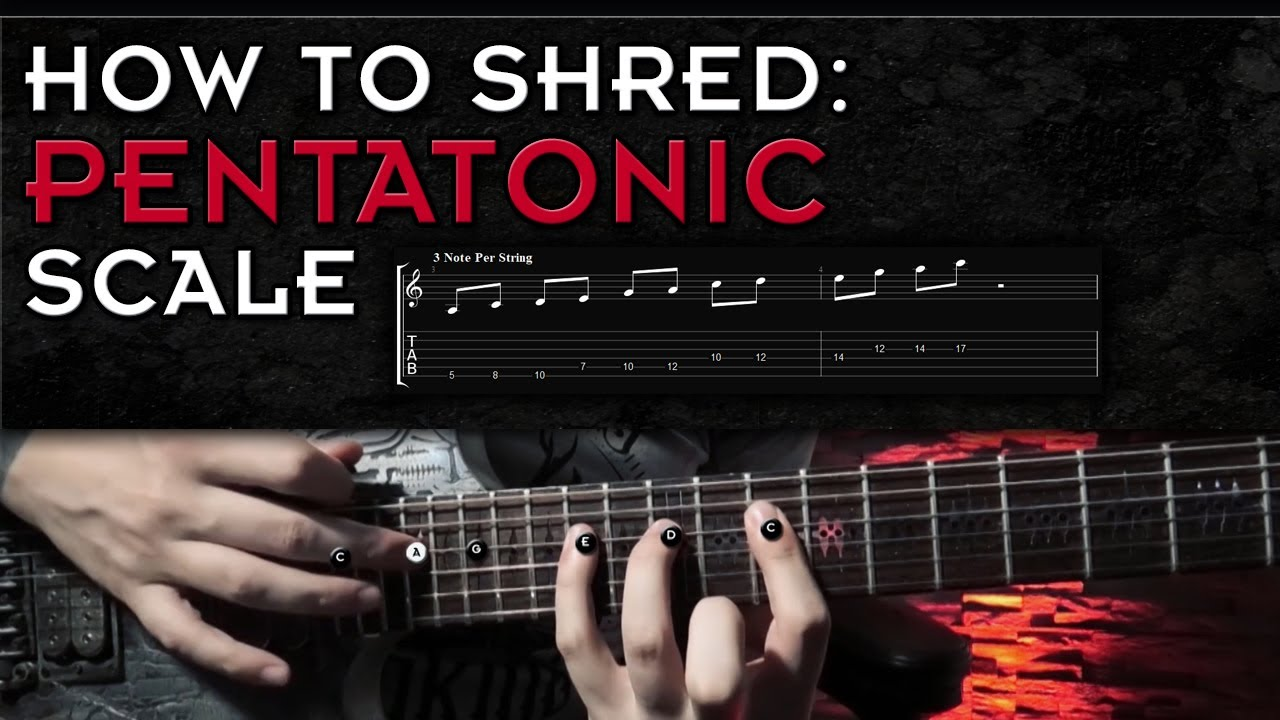 Pentatonic Scale Shredding | How To Come Up With Cool Licks!