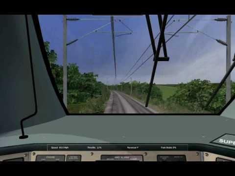 Rail Simulator -  Durham to Ferryhill - Modern Test