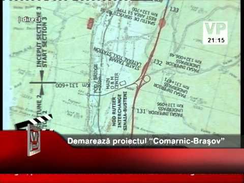 """Demarează proiectul """"Comarnic-Braşov"""""""