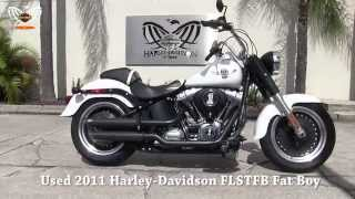 5. Used 2011 Harley Davidson Fatboy low for sale in Florida