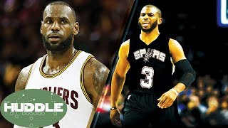LeBron James BREAKS MJ's Playoff Record, Chris Paul to the Spurs? -The Huddle by Obsev Sports