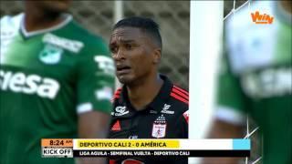 Download Lagu Cali 2 - 0 América | Semifinales vuelta Liga Aguila 2017-I | Win Sports Mp3