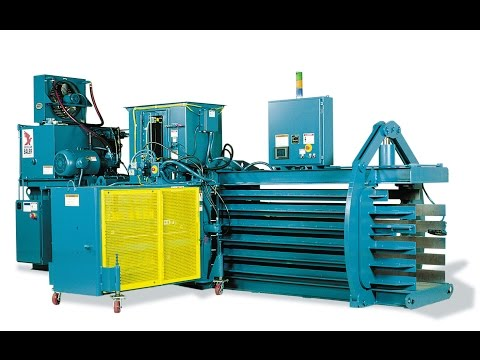 Watch the PAC Series Baler in action!