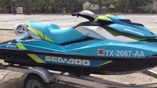 5. 2015 Sea Doo GTI SE 130 Memphis sound system