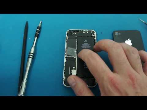 comment reparer connecteur batterie iphone 4s