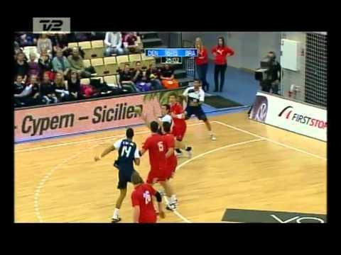 Brasil x Dinamarca Handebol 2011