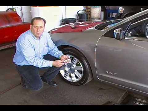 Proper vehicle tire pressure and inflation