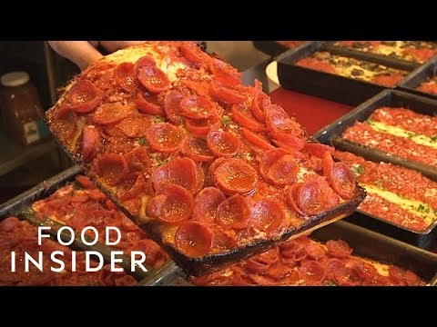 Is Detroit-Style Pepperoni Pizza Better Than A New York Slice?