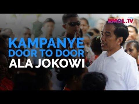 Kampanye Door To Door Ala Jokowi