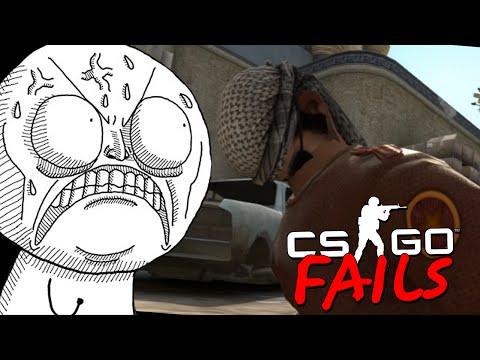 CS:GO FAILS #4 - Нелепые моменты игроков