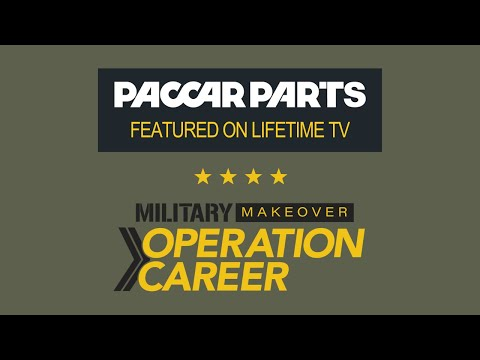 Military Makeover: Operation Career PACCAR Parts