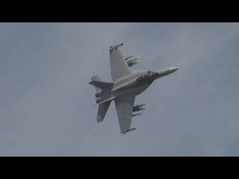 The F/A-18 Hornet at the Royal...