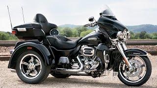 7. New 2015 Harley Davidson Tri Glide Ultra 3 wheeler