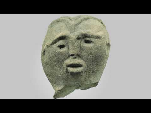 Aegean stone sculpture
