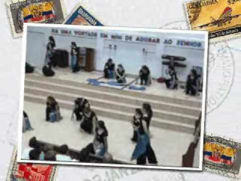 Grupo de Coreografia Miriã - Igreja Metodista em morretes - Parte 1