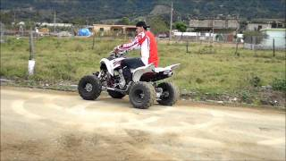 4. 2009 raptor 700 danny rivas jarabacoa stunt