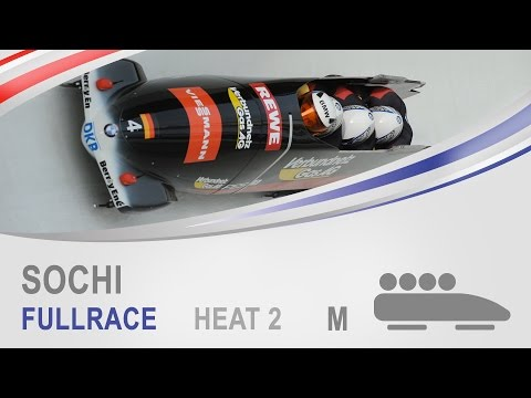 Sochi | 4-Man Bobsleigh Heat 2 World Cup Tour 2014/2015 | FIBT Official