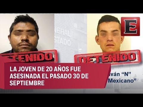 apturan en Puebla a dos presuntos asesinos de la estudiante Mariana Fuentes