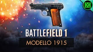 Battlefield 1 Weapons (BF1): Here's my Modello 1915 Guide/Review, including info, tips for using it best, stats + Modello 1915 Pistol Gameplay. (Battlefield 1 Beretta M1915 Gameplay shown) BF1 PS4 Pro GameplayBattlefield 1: Modello 1915 Review (Weapon Guide)  BF1 Weapons + Guns  BF1 Multiplayer GameplayStats Reference: http://symthic.com/The Modello 1915 (Pistol) can be equipped on a support loadout as a secondary. (PS4 Pro BF1 Gameplay)Battlefield 1 video game Facebook:  https://www.facebook.com/kriticalkrisTwitter:  https://twitter.com/KriticalKrisKriticalKris Channel : https://www.youtube.com/channel/UC5d9SQiZzg7qFcqF0xTOFXQ/feedhttps://youtu.be/EUkKNFN0wyE