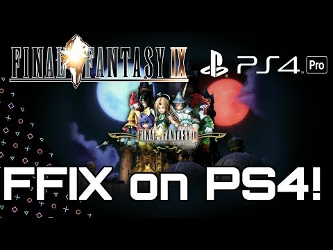Final Fantasy IX on Playstation 4! Download Now!