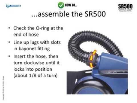 Sundstrom SR500 Powered Air-Purifying Respirator (PAPR)
