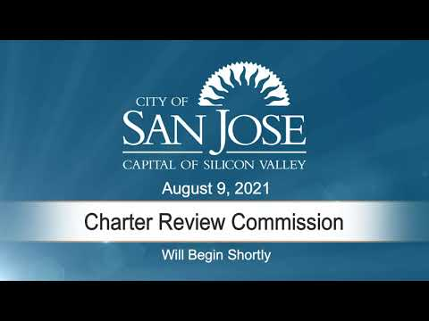 Aug 9 2021 Charter Review Commission