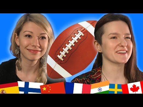WATCH The NFL According to International Students
