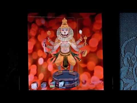 Video of 3D Narasimha Live Wallpaper
