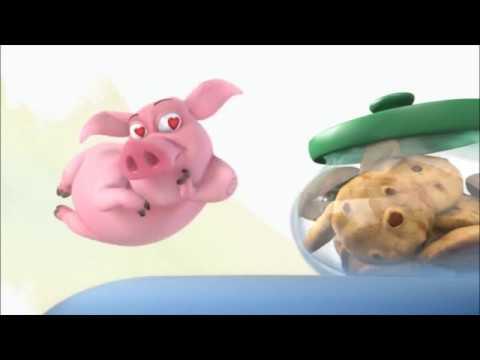小豬就算用盡所有力氣也要得到餅乾!