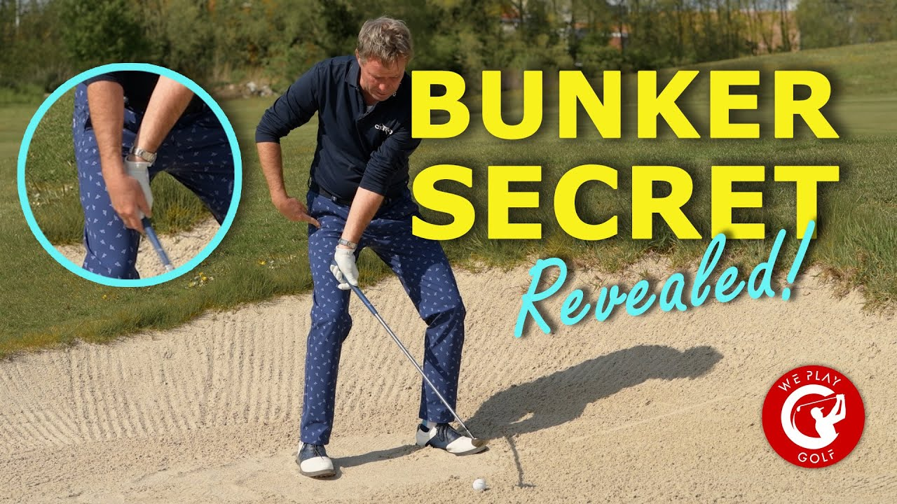 BIG BUNKER SECRET REVEALED - no one tells you about this bunker shot golf technique!