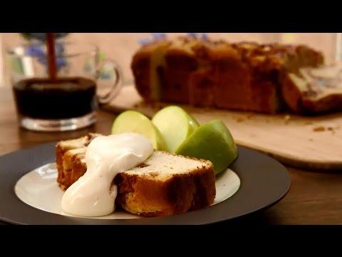 Cake Recipes – How to Make Apple Cinnamon White Cake