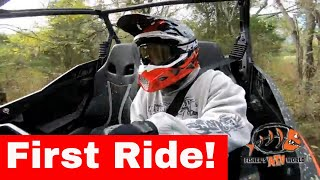 7. FIRST RIDE....Can-am Maverick Sport 1000R