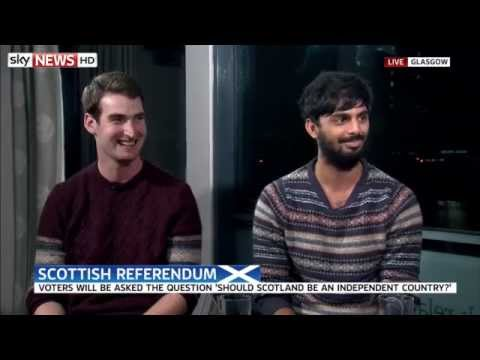 SCOTTISH - Two undecided voters, Anthony McKean and Chai Pandya talk to Adam Boulton about their views on Scottish independence. SUBSCRIBE to our YouTube channel for more great videos: http://www.youtube.com...