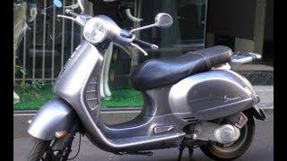 10. Vespa Granturismo GT200 2004-2009 Scooter Motorcycle