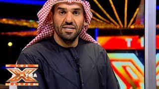تواصل حسين الجسمي مع الجمهور- الحلقة الرابعة - The XTRA Factor 2013