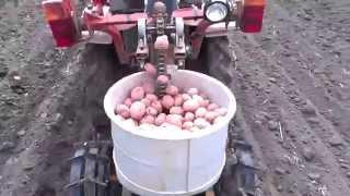 хтз-010 картофелесажалка самоделка