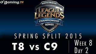 LCS NA Spring 2015 - W8D2 - T8 vs C9
