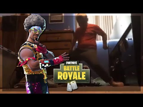 undeniable evidence that the orange shirt fortnite kid works with literally every song