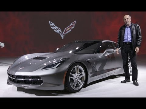 Corvette Stingray  on 2014 Chevrolet Corvette C7 Stingray  Live Launch And Photos   Rush