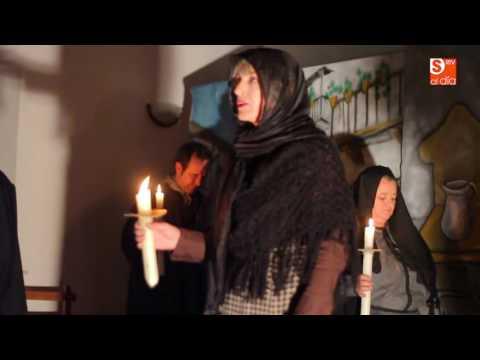 Teatro homenaje a Gabriel y Galán en Frades de la Sierra