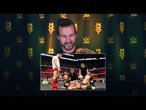 Adam Cole watches his NXT debut at TakeOver: Brooklyn III: WWE Playback (видео)