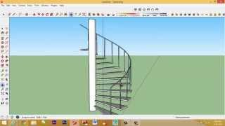 Video Cara membuat tangga putar dengan sketchup MP3, 3GP, MP4, WEBM, AVI, FLV Desember 2017