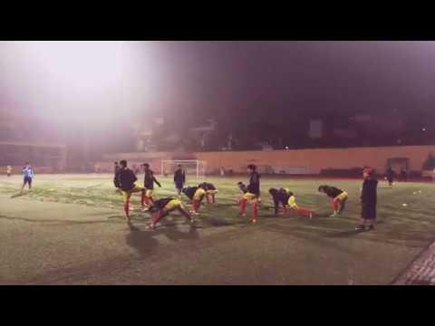 U23 Việt Nam vs U23 Đài Bắc Trung Hoa (Khởi động trước trận đấu) - Thời lượng: 1 giờ, 6 phút.