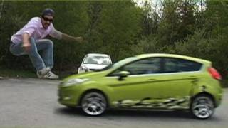 Ran over by Ford Fiesta?! - Joe Penna
