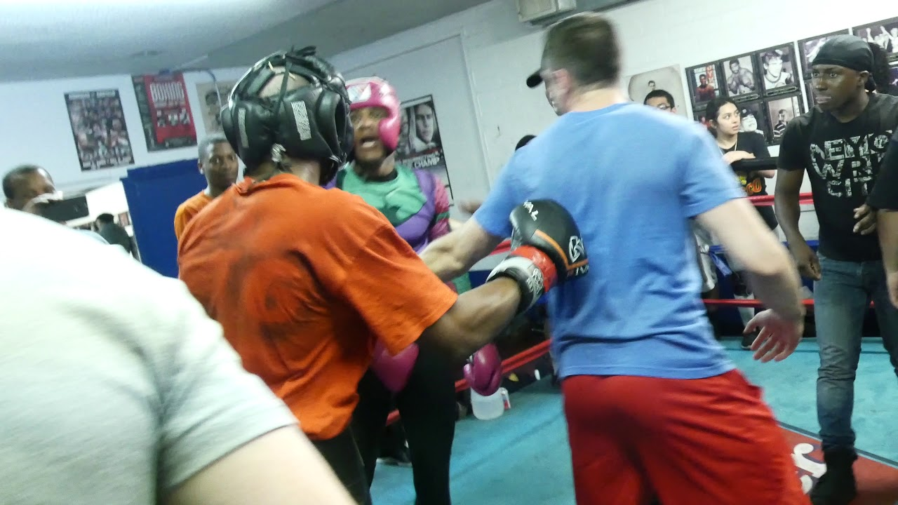 Sparring Gone Wild !!! Hell in the Ring!!!